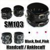SM103 HAND / ANKLE CUFF (BLACK, RED, PINK)